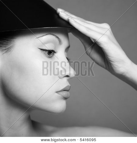 Young Lady With Hat