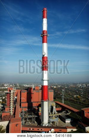 Heating Plant, Chimney 150M