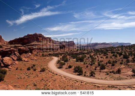 Desert Road: American Southwest