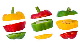 Bell Pepper Slices .paprika