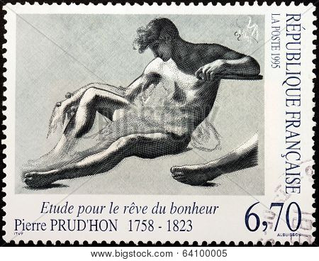 Prudhon Stamp