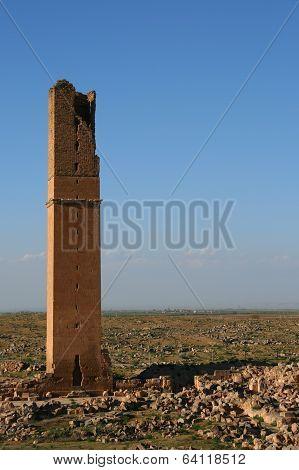 tower in Harran, Turkey