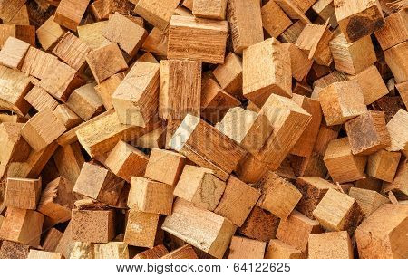 Sew Wood Scraps