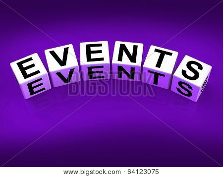 Events Blocks Represent Functions Experiences And Occurrences