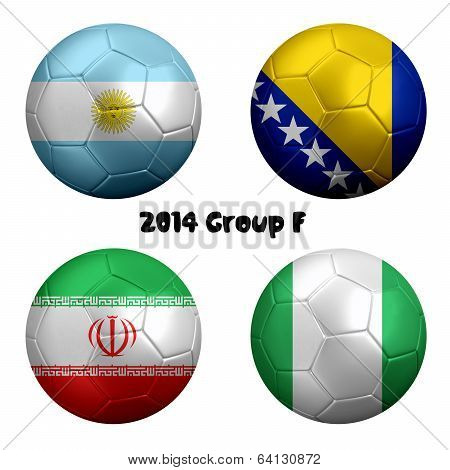 2014 Soccer Championship Group F Nations