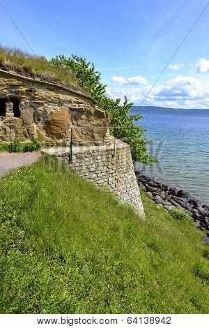Nas castle ruins in Visingso, Sweden.