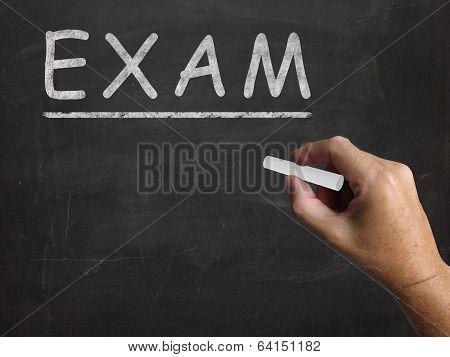 Exam Blackboard Shows Assessment Test And Grade