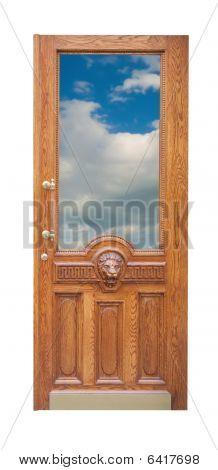 Decor Old Wooden Door