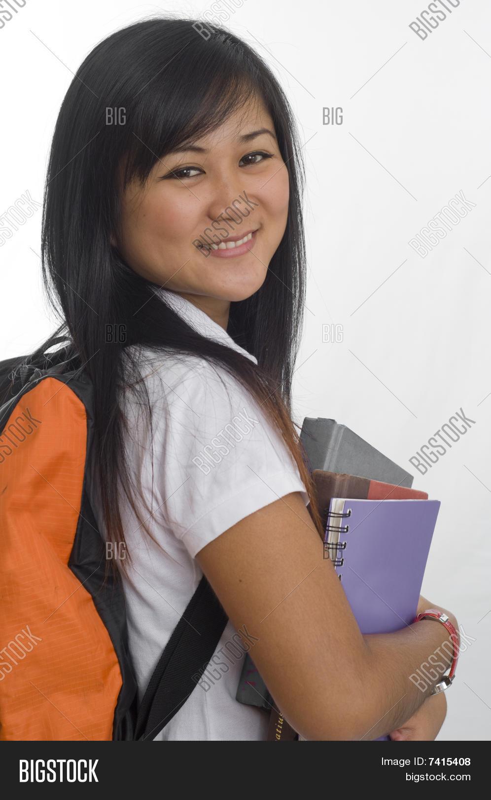 Asian School Student Image Photo Free Trial Bigstock