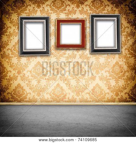 Frames On A Wall.
