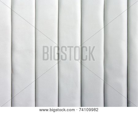 Strip Pannel With White Leather Texture