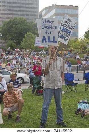 Moral Moday Fracking Protest