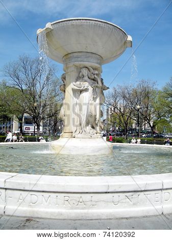 Washington Dupont Circle The Fountain 2010