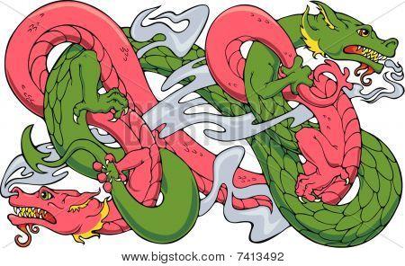 Wrestling Dragons