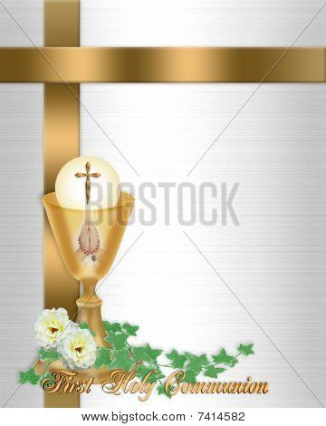 Holy Communion Invitation Background