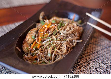 Noodles With Eel