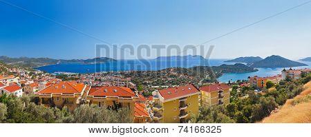 Town Kash, Turkey - travel background