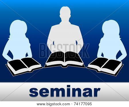 Seminar Books Means Non-fiction Symposium And Convention