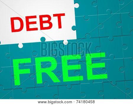 Debt Free Means Debit Card And Arrears