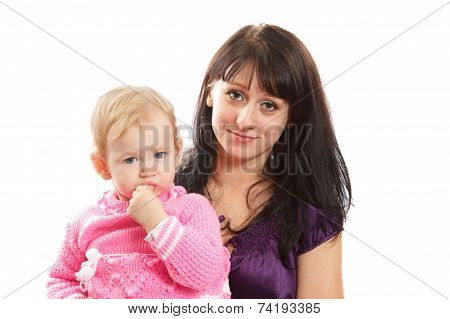 Mom with her child