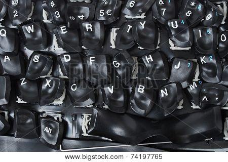 Burned Keyboard