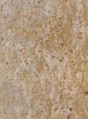 brown granite with black and orange stripes and blotches poster