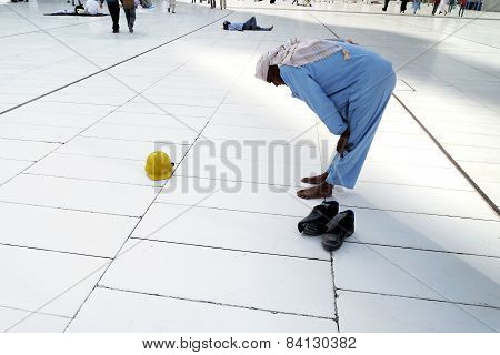 Muslim Prayer Alone