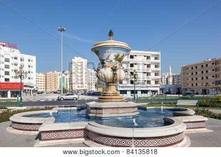 Fountain In Sharjah City