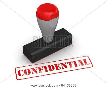 Rubber Stamp - Confidential