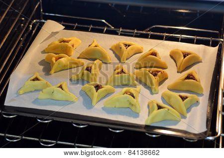 Purim Jewish Holiday Food - Hamentashen, Ozen Haman
