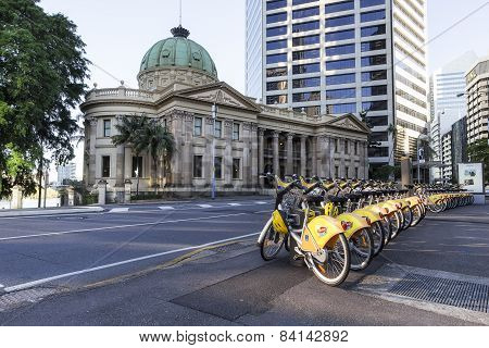 Bicycles For Hire In Brisbane