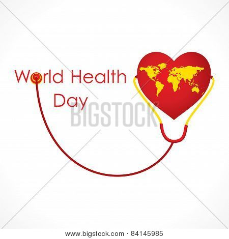 world health day banner design