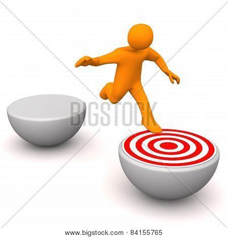 Manikin Target Jump