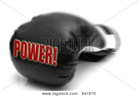 POWER - boxing glove
