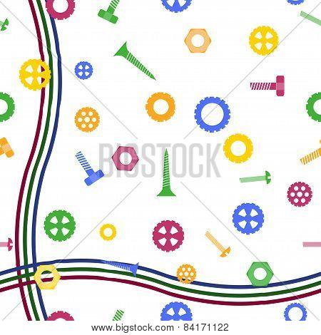 Mechanical Parts Wallpaper