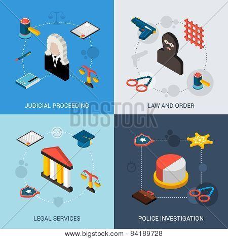 Law Isometric Set