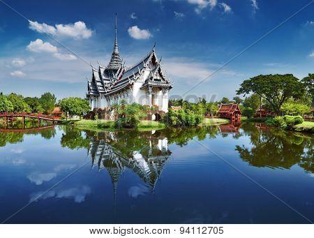 Sanphet Prasat Palace, Ancient City, Bangkok, Thailand