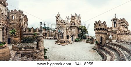 Panoramic View Of Colomares Castle