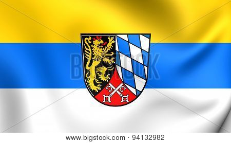 Flag Of The Upper Palatinate, Germany.