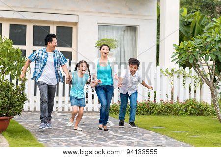 Running In The Backyard