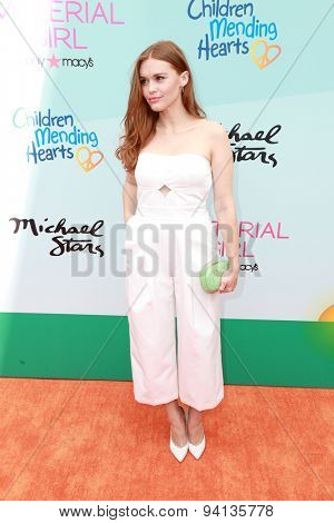 LOS ANGELES - JUN 14:  Holland Roden at the Children Mending Heart's 7th Annual Empathy Rocks Fundraiser at the Private Location on June 14, 2015 in Malibu, CA