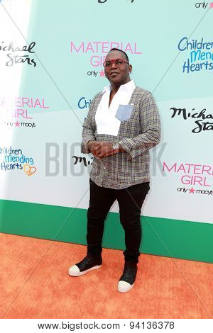 LOS ANGELES - JUN 14:  Randy Jackson at the Children Mending Heart's 7th Annual Empathy Rocks Fundraiser at the Private Location on June 14, 2015 in Malibu, CA