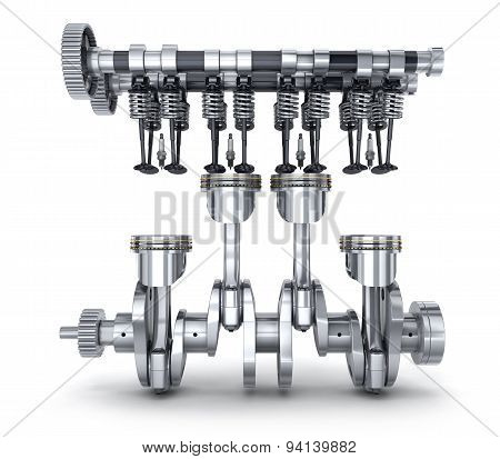 Crankshaft And Camshaft