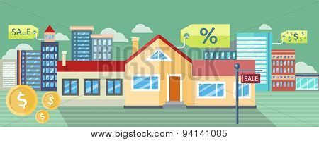 Real Estate, House for Sale, Installment Sale