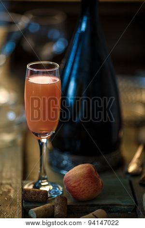 Bellini Alcoholic Cocktail