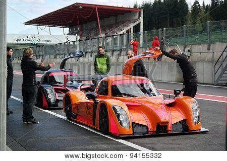 Radical RXC Coupe racing car