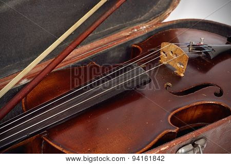 Fiddle-case And Violin