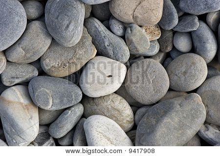 Beach Rocks And Pebbles Background