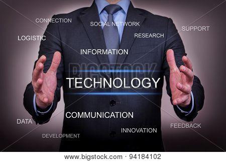 Businessman Chose Technology