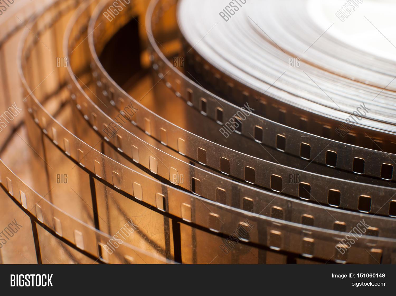 Movie Film Reel Detail Image Photo Free Trial Bigstock